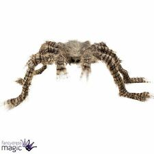 Large Scary Bendable Halloween Hairy Spider Decoration Party Prop Shop Display