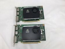 Lot of 2 Dell Nvidia Quadro FX 580 512MB GDDR3 Video Card R784K
