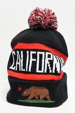 CA California Republic Pom Beanie