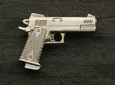 Personal Defense Competition .45 Handgun Pewter Pin