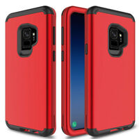 Hybrid Armor Shockproof Rugged Bumper Case For Samsung Galaxy S8 S9 Plus Cover