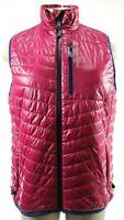 Vineyard Vines NWT $130 Womens Performance Vest Size Medium Fuschia