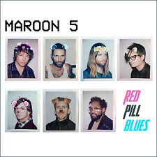 Maroon 5 Red Pill Blues Deluxe 2x CD & Hand Signed Limited Lithograph