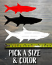 Tarpon Sticker Decal Fish DIE Cut Yeti Fishing Costa Pelagic AFTCO Orvis XO