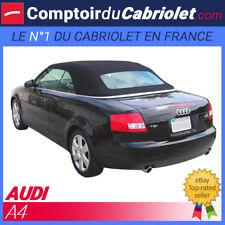 Capote Audi A4 cabriolet en alpaga - noire