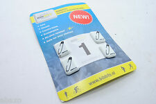 Bibbits Magnetic Race Number/Bib Holders Set