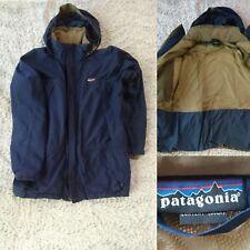 Patagonia Mens Storm Jacket Waterproof Parka Shell Ski Snow Navy L