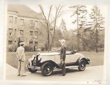 1929 Plymouth Roadster Original Photo Edmond Meany University Washington ww7295