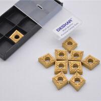 10pcs CNMG120404-TM LF9011 CNC carbide Inserts tool Deskt machine parts Turning