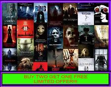 HORROR MOVIE COLLECTION  Poster Saga Buy 2 get 1 FREE Framed & Unframed