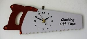 Hand Saw Wall Clock for all those DIY enthusiasts