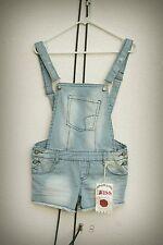 NWT 1st Kiss Size Mjr Romper Hot Mini Short Shorts Overall Engineer Stripe