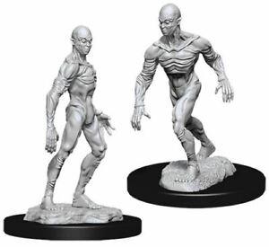 D & D NOLZUR'S Wunderbare Nicht Lackiert Miniaturen Doppelgänger (Packung 6)