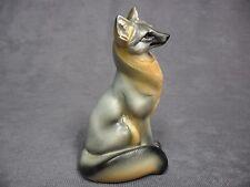Windstone Editions New * Sitting Grey Fox * Statue Figure Animal Figurine NIB
