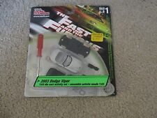 The Fast And The Furious 2003 Dodge Viper Die-Cast Activity Set 1:64 Scale MOC