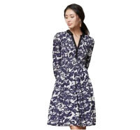 Anthropologie Edme & Esyllte Women's Size US 4 Toile Smocked Shirt Dress Tunic