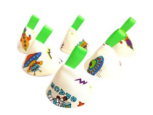 Space Aliens Pee Pee Teepee x 6 // Wee Stop Cones Teepees // Baby Shower Gift