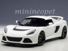 AUTOart 75383 LOTUS EXIGE S 1/18 DIECAST MODEL CAR WHITE