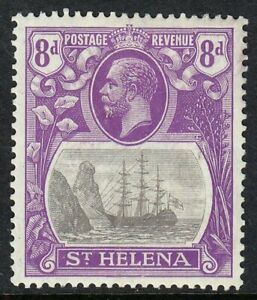 ST HELENA 1922-37 SG105 8d GREY & BRIGHT VIOLET MM