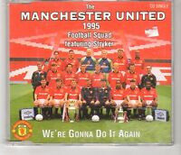 (HI97) The Manchester United 1995 Squad ft Stryker, We're Gonna Do It Again CD