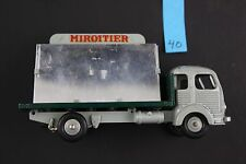 Simca Cargo Glass Truck No. 33 Vintage Dinky Toys 40