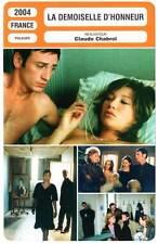 LA DEMOISELLE D'HONNEUR - Magimel,Smet,Chabrol(Fiche Cinéma)2004  The Bridesmaid