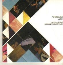 (CN987) What Is Love, AZitiZ - 2011 DJ CD