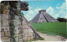 Mexico - cpsm - Chichen Itza, Yucatan - Cabeza of Serpiente (Kukulcan)
