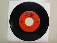 """HINGE:Come On Up 2:45-The Idols Of Your Mind 2:50-U.S. 7"""" 1968 Tee Pee Records"""