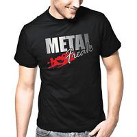 Metal Freak Heavy Rock Sprüche Geschenk Lustig Spaß Comedy Fun Spruch T-Shirt