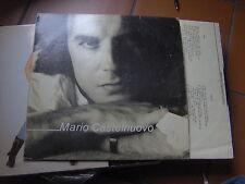 LP MARIO CASTELNUOVO SAME 1984 MOGOL BATTISTI  + INNER TESTI EX