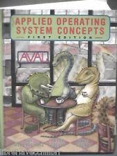 APPLIED OPERATING SYSTEM CONCEPTS Avi Silberschatz Peter Galvin Greg Gagne Libro