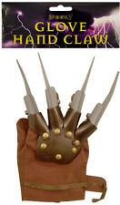 Halloween Kostüm Greifer Hand Handschuh Spikes Freddy Nightmare