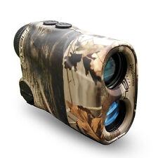 Camo Hunting Laser Monocular Range Finder Speed Finder Rangefinder for Bow Hunt