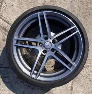 Mercedes Benz Rear Single Alloy Wheel & Free Tyre Bridgestone 19x9.5JJ 285/30/19