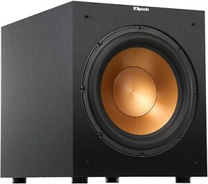 New Open Box Klipsch Reference R-12SW 400W Front-Firing Subwoofer - Black