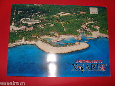 Pictorial Guide to Xcaret Cancun Tulum Mexico 1977 Spanish/ English
