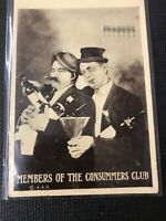 Rppc Menbers Pf The Consummers Club Seattle 1913  Postcard