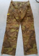 "Motorcycle combat trousers 34"" extra long - Draggin jeans camouflage"