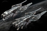 Dropfleet Commander BNIB UCM Cruiser Box HDF-31002