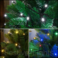 50-100-200 LED LOW VOLTAGE CHRISTMAS TREE PARTY 5M-10M-20M FAIRY STRING LIGHTS