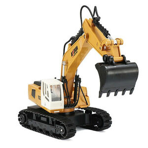 HUINA 1:18 RC Excavator – Full 9 Channel Function!