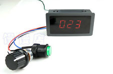 6V-30V 8A PWM 0-100% DC Motor Speed Regulator Controller Digital LED 6v 12v 24v