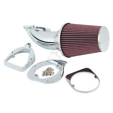 Chrome Air Cleaner Cone Intake Filter For Honda Shadow ACE Spirit 750 1100
