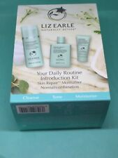 Liz Earle Your Daily Routine introduction Kit Set Cleanse,cloth,tonic,norm/combo