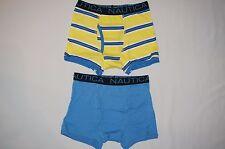 NWT NAUTICA 2pc  BOY boxer briefs underwear size S 6/7 multi color