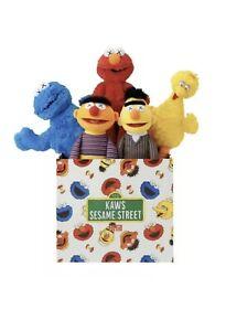 KAWS x Uniqlo Sesame Street Limited Set Collection Original Box (new) By Kaws