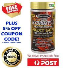 MuscleTech Hydroxycut Hardcore Next Gen Non-Stimulant 150 Caps Fat Burner Elite