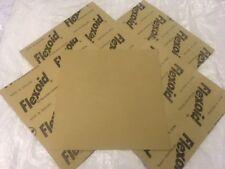 """GUARNIZIONE resistente all'olio di carta 0.8 MM spessore .10 """"X 10"""" Fogli - 5 FOGLI"""
