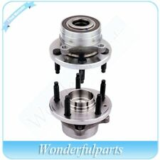 2 Front Wheel Hub and Bearing Assembly New For Ford Explorer 11-16 All Models